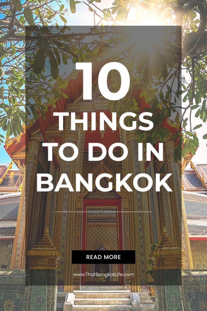 10 things to do in Bangkok