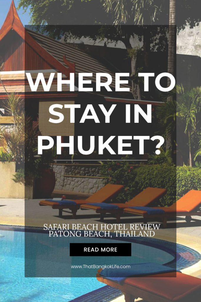 Phuket hotel on the beach