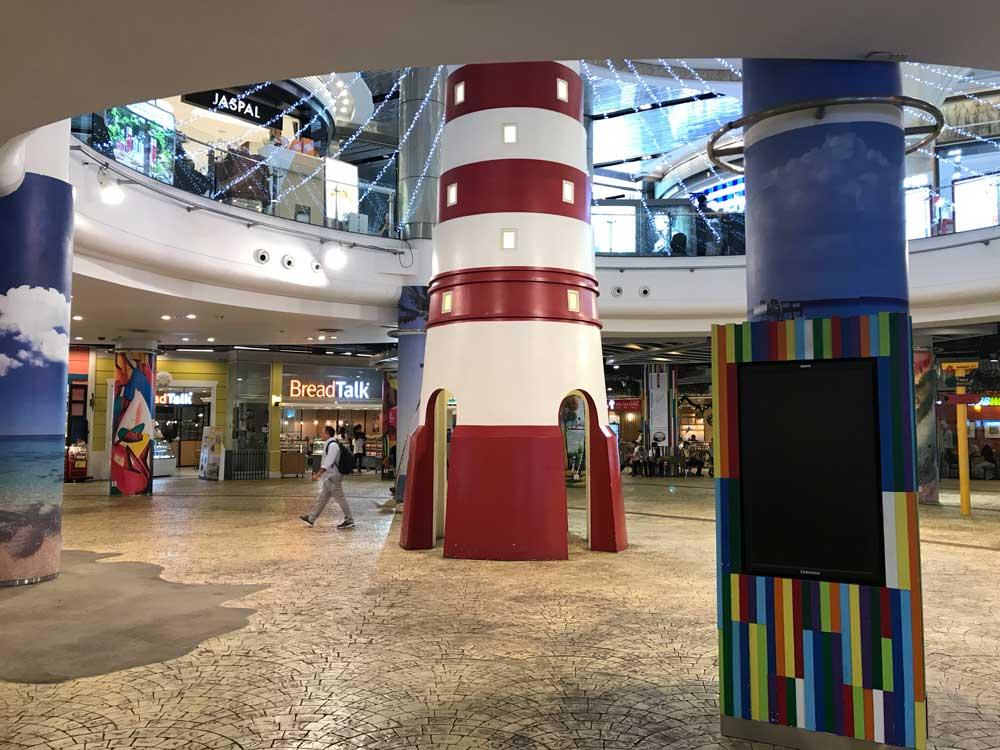 Terminal 21 shopping mall - caribbean