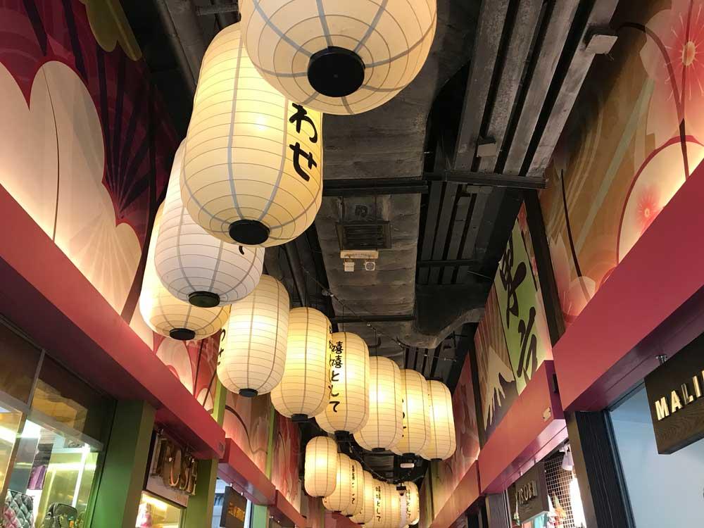 Terminal 21 shopping mall tokyo floor Japan area