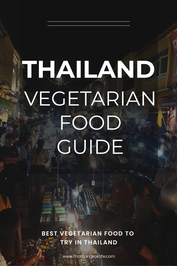 Vegetarian food in Thailand