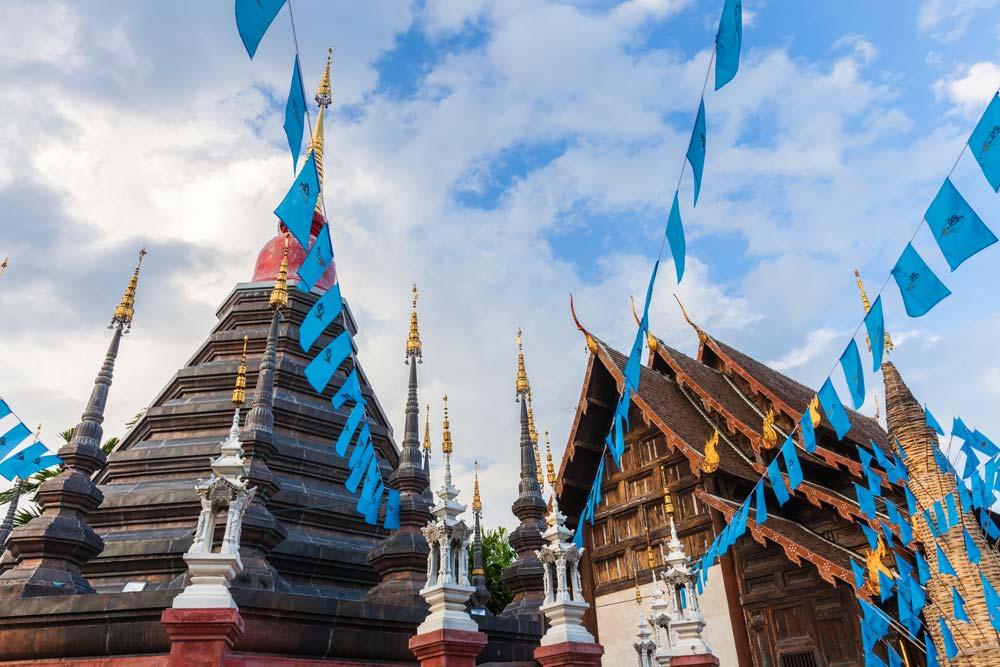 Wat Phan Tao temple in Chiang Mai