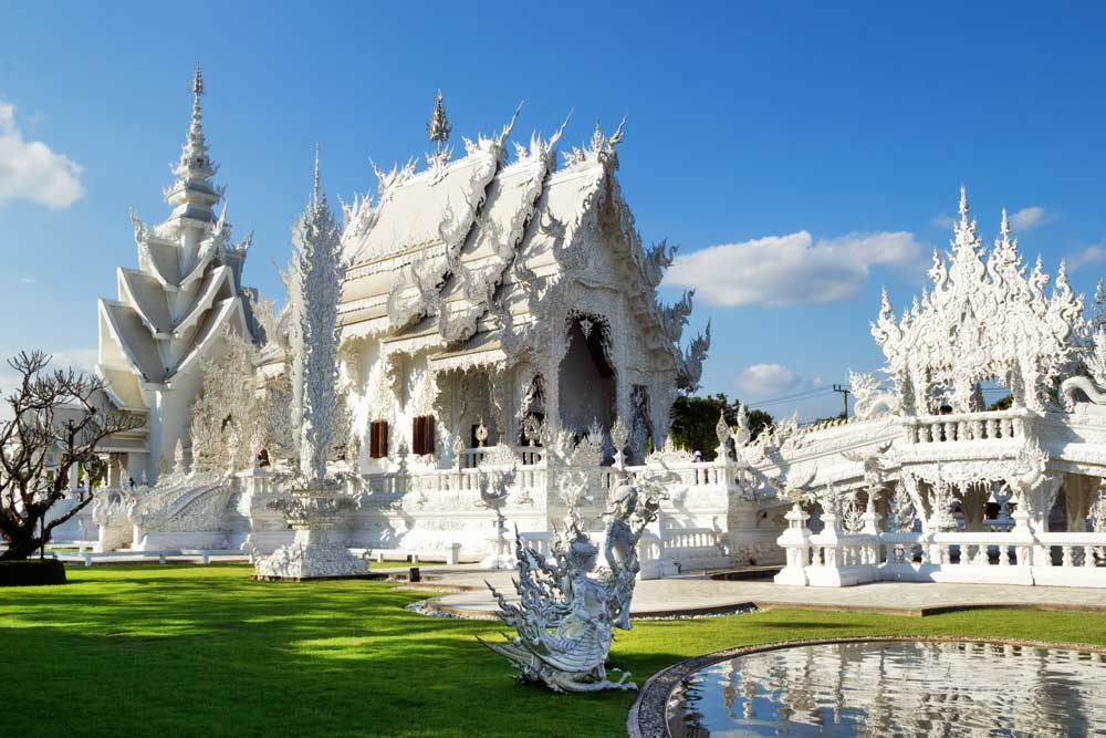 Wat Rong Khun White Temple Chiang Rai