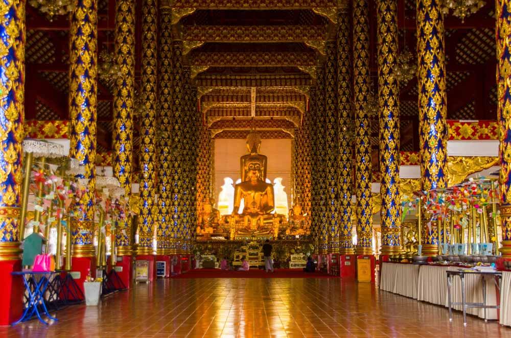 Wat Suan Dok temple in Chiang Mai