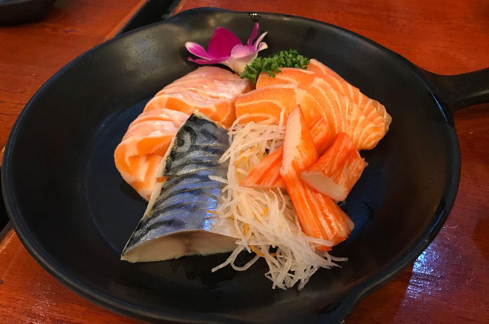 Fuku intown sushi buffet in Bangkok
