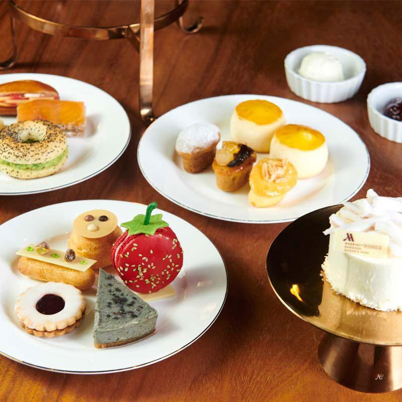 Marriott Afternoon Tea Bangkok