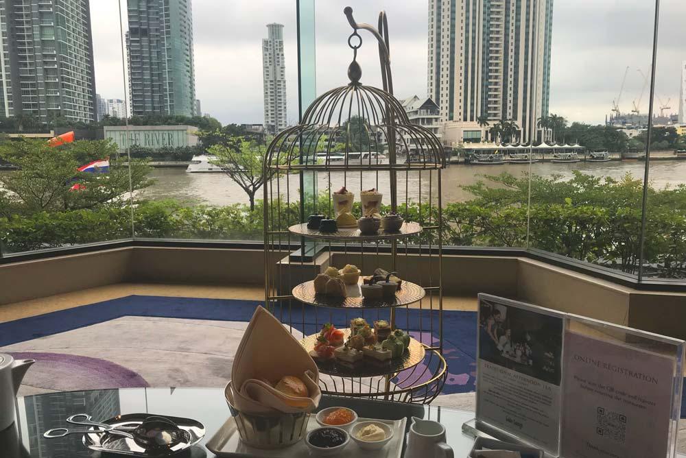 Shangri-la afternoon tea Best afternoon tea in Bangkok