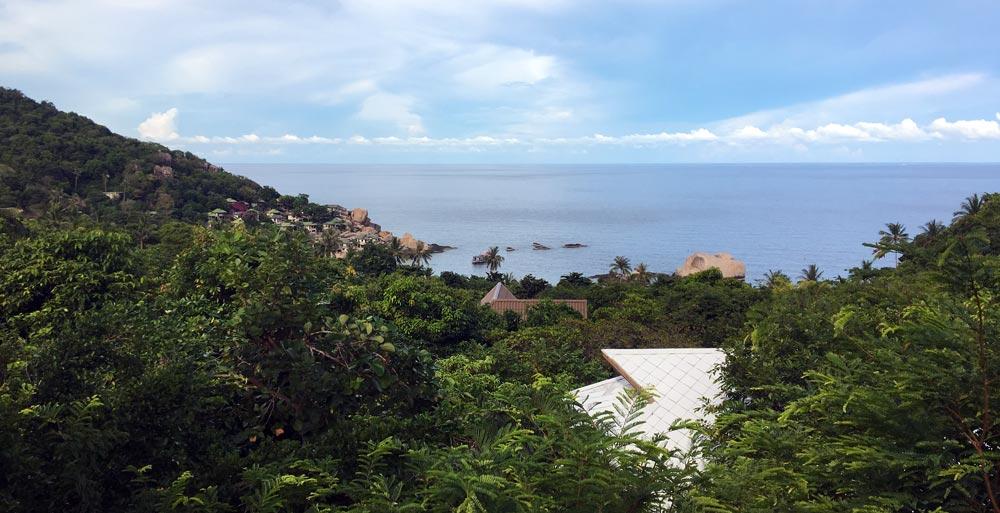 Koh Tao resort overlooking the sea tanote villa koh tao resort