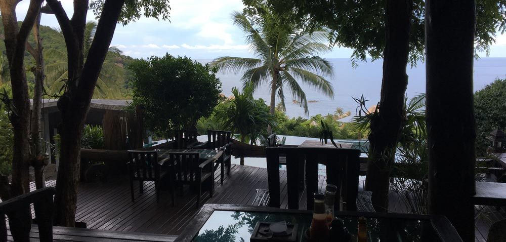 restaurant at tanote villa koh tao resort